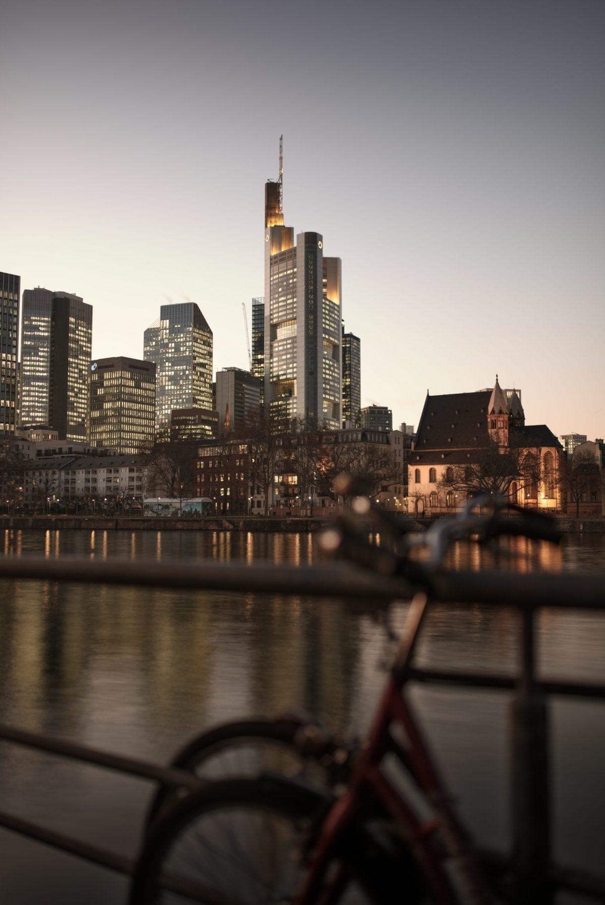 Main Frankfurt Wandbild