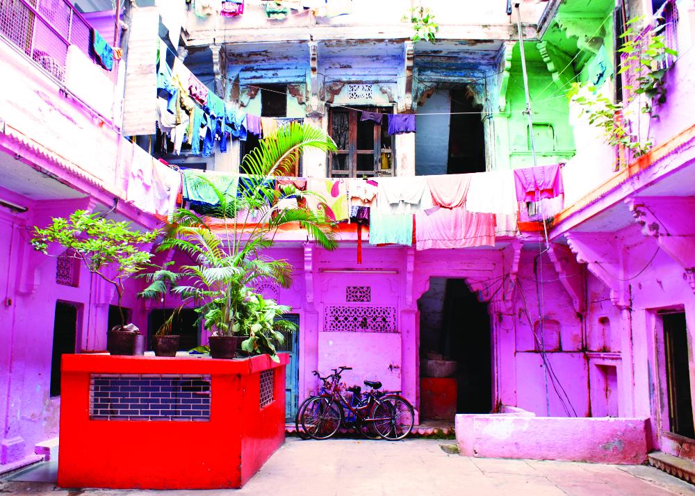 Wallart - Wandbild Indien - Gipsyhearts -