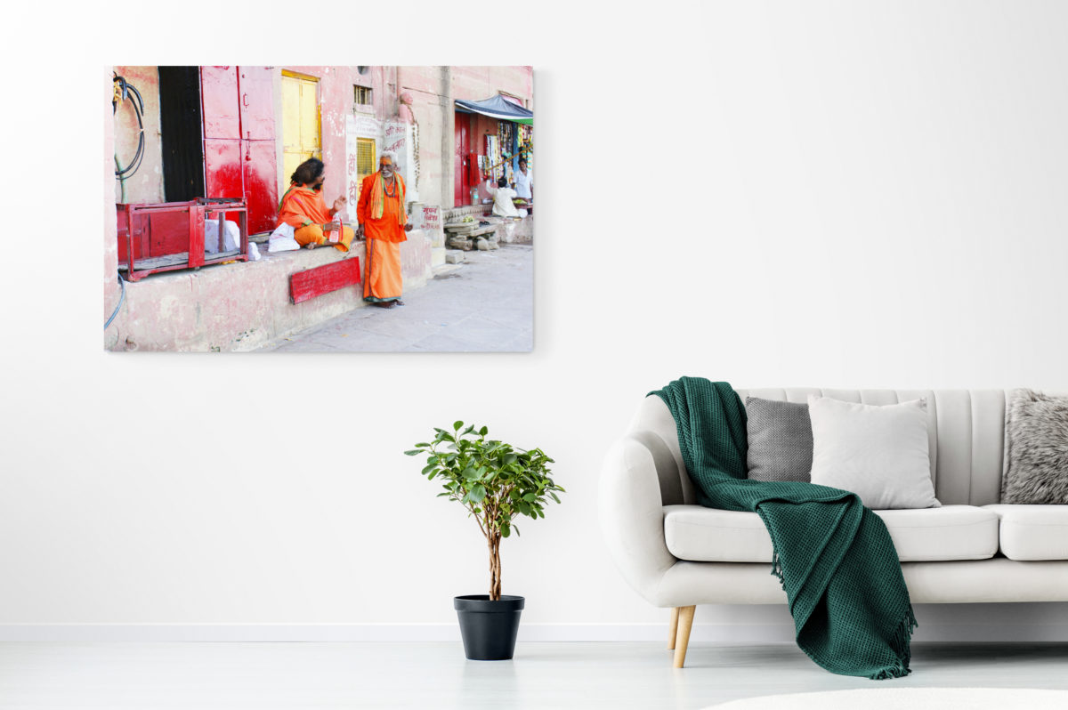 A pure connection – Wandbild Indien